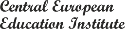 Central European Education Institute logo vzdelávanie